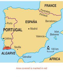 Algrave map