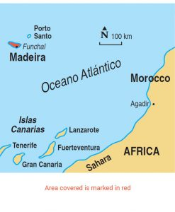Madeira area map