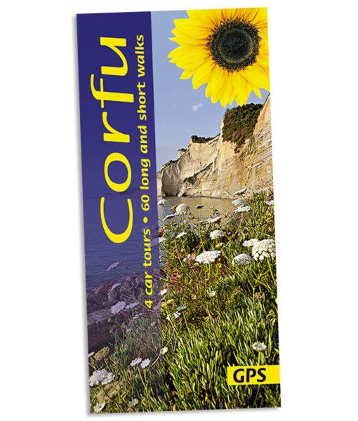Walking in Corfu guidebook cover