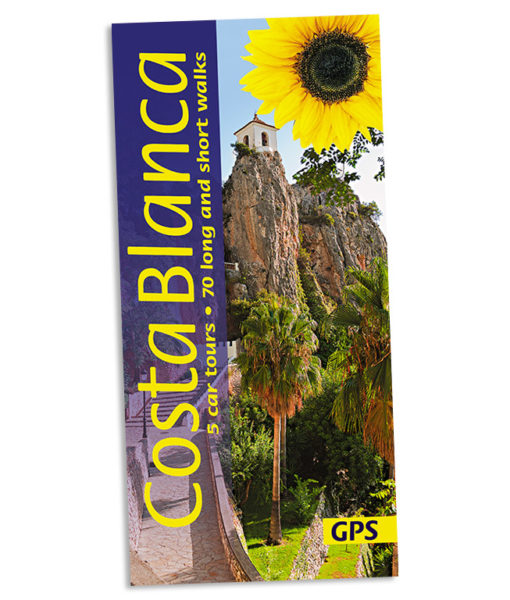 Walking on the Costa Blanca guidebook cover