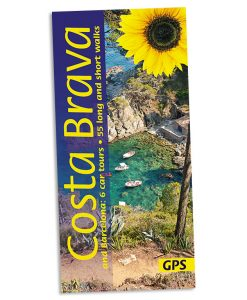 Walking on the Costa Brava guidebook cover