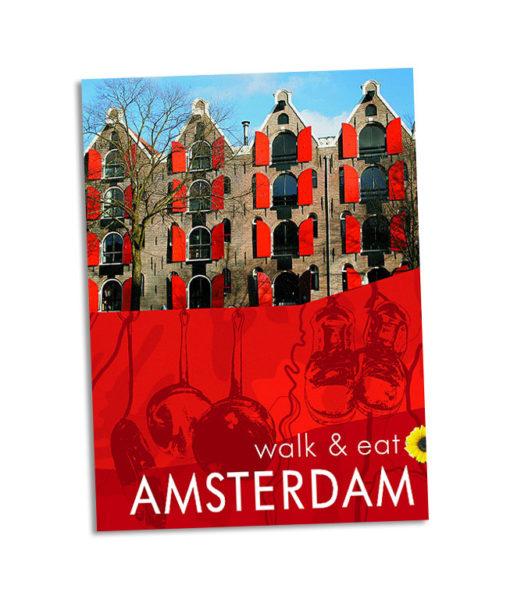 Walk & Eat Amsterdam guidebook cover