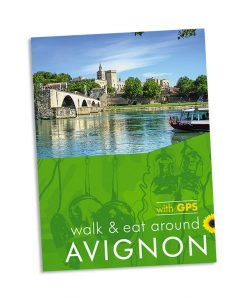 Walk & Eat around Avignon guidebook cover