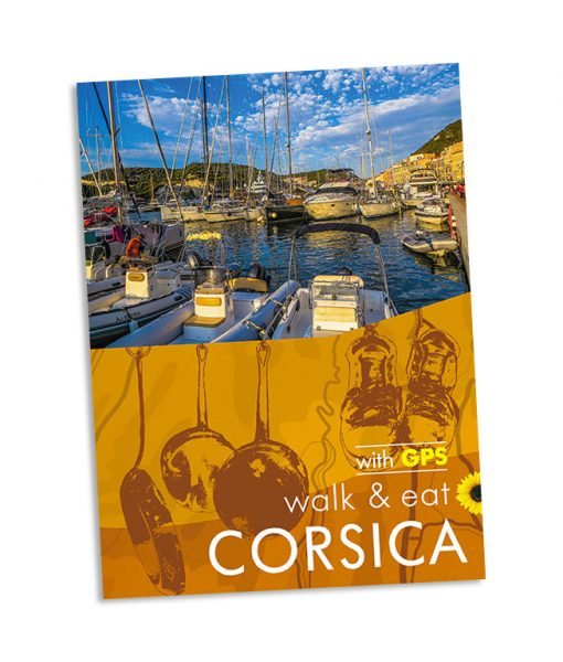 Walk & Eat Corsica guidebook cover
