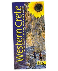 Walking in Western Crete guidebook cover