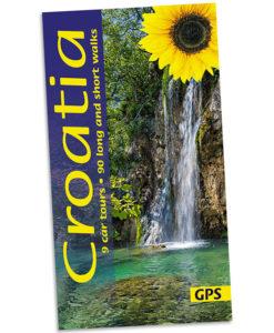 Walking in Croatia guidebook cover