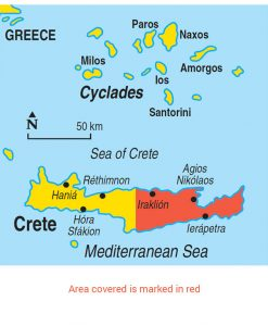 Eastern Crete 11 Car Tours 50 Walks