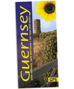 Walking on Guernsey guidebook cover