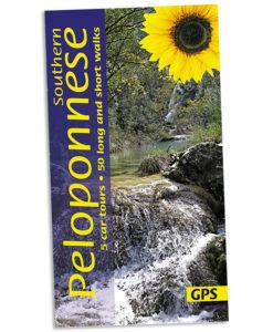 Walking in the Peloponnese guidebook cover