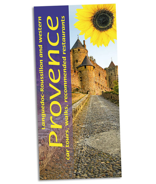 Walking in Languedoc and western Provence guidebook cover