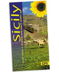 Walking in Sicily guidebook cover