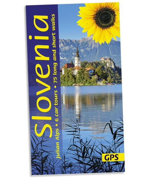 Walking in Slovenia guidebook cover