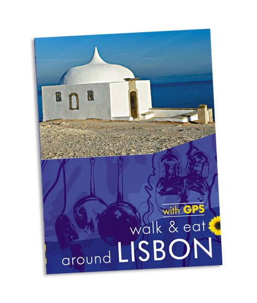 Walk & Eat Lison, Portugal guidebook cover