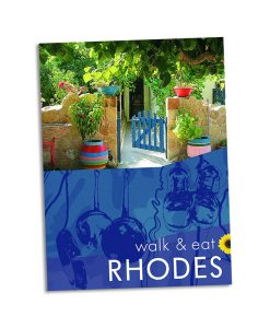 Walk & Eat Rhodes guidebook cover