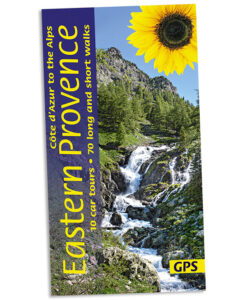 Walking in the Côte d'Azur and eastern Provence guidebook cover