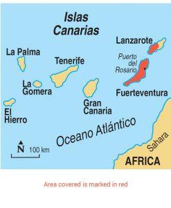 Fuerteventura Area Map