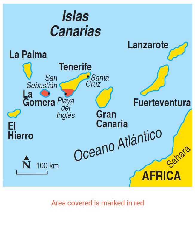 Walking In La Gomera Guidebook 2 Car Tours 50 Walks Sunflower Books