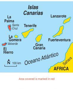 La Palma & El Hierro Area Map
