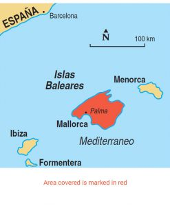 Mallorca area map