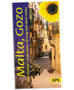 Walking in Malta, Gozo & Comino guidebook cover