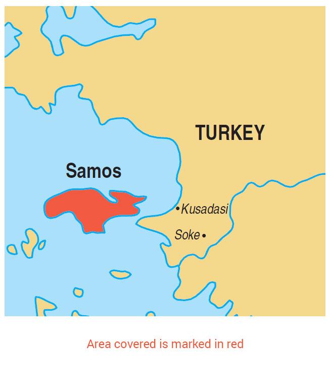 Walking in Samos