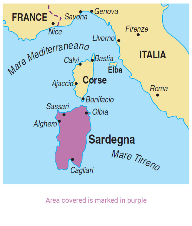 Walking in Sardinia Guidebook; 6 Car Tours/37 Walks ...