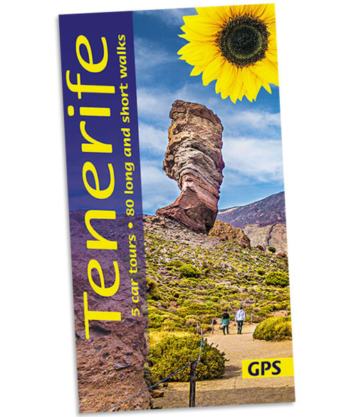 Walking in Tenerife guidebook cover