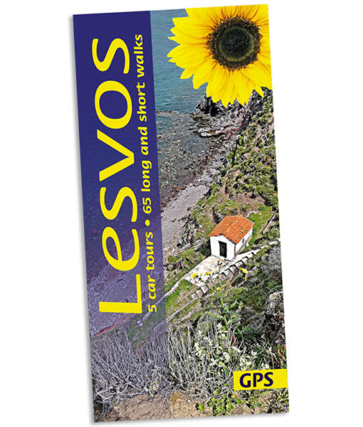 Lesvos walking guidebook cover