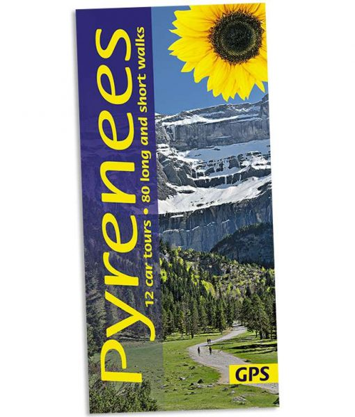 Pyrenees walking guidebook