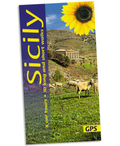 Sicily walking guidebook cover
