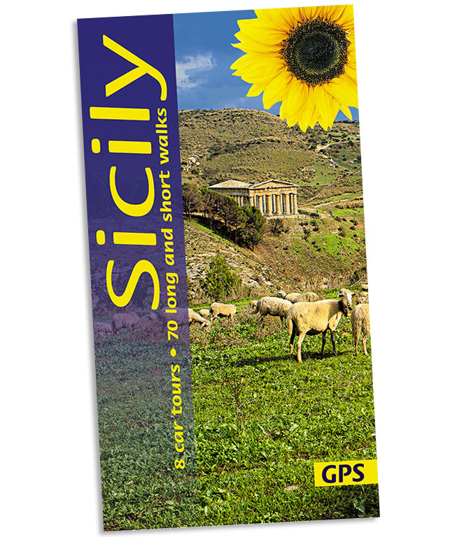 86142164a Walking in Sicily Guidebook; 8 Car Tours/60 Walks - Sunflower Books