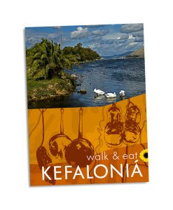 pocket guidebook to walking & eating in Kefalonia