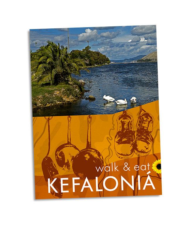 pocket guidebook to walking & eating in Kefalonia
