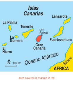 Gran Canaria Area Map